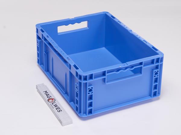 2A Qualität - SSI Schäfer Mültifunktionsbehälter MF 4170 PP, Farbe Dunkelblau