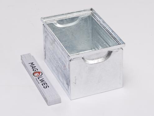 2A Qualität - SSI Stapeltransportkasten aus Stahlblech 14/6-4